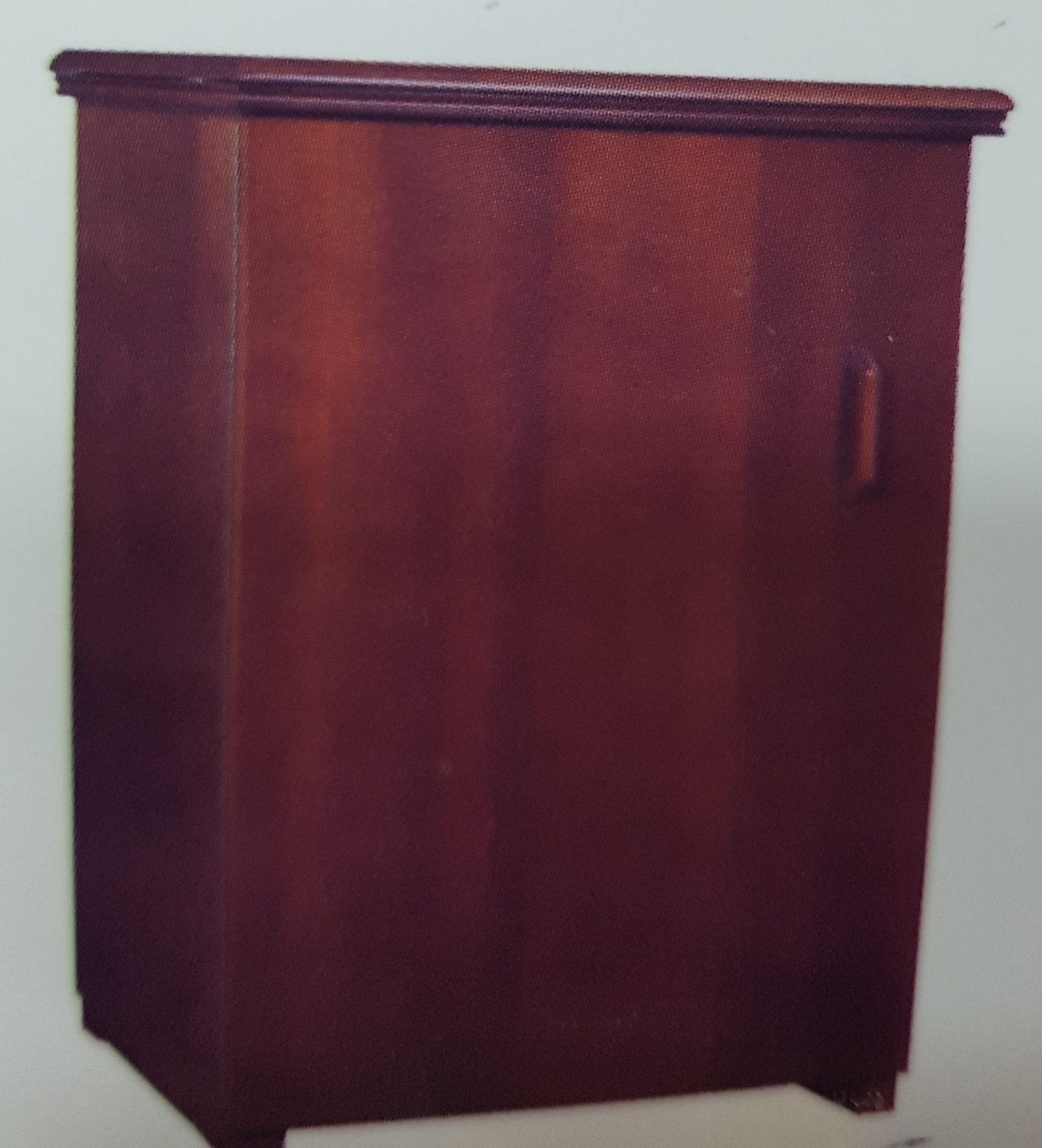 Mueble Para M Quina De Coser N 6 Nogal Acoser # Muebles Maquina De Coser