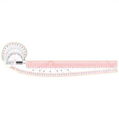 C9382 Regla curva francesa en centímetros