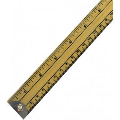 C9598 Regla de madera de 1 m