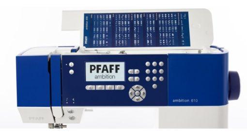 PFAFF AMBITION 610 MAQUINA DE COSER